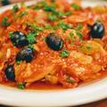 ポロ・アラ・カチャトーラ・鶏肉のトマト煮込み