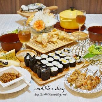 【和食】結婚記念日ディナー/Wedding Anniversary Dinner at Home