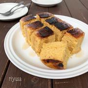 【完成まで20分】焦がし黒糖のふわふわケーキ