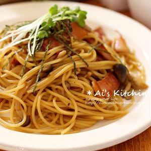 めんつゆで簡単!ランチに食べたい「和風パスタ」レシピ
