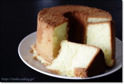 なかしましほのシフォンケーキ。生地だけでおいしい満足レシピご紹介