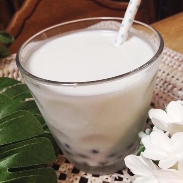 タピオカ入りココナッツミルク【レシピあり】