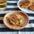 【レシピ】じゃが芋と絹さやのチーズチヂミ