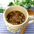 掲載していただきました♪ 『忙しい朝にも♪レンジで簡単!海苔の佃煮の韓国風スープ』