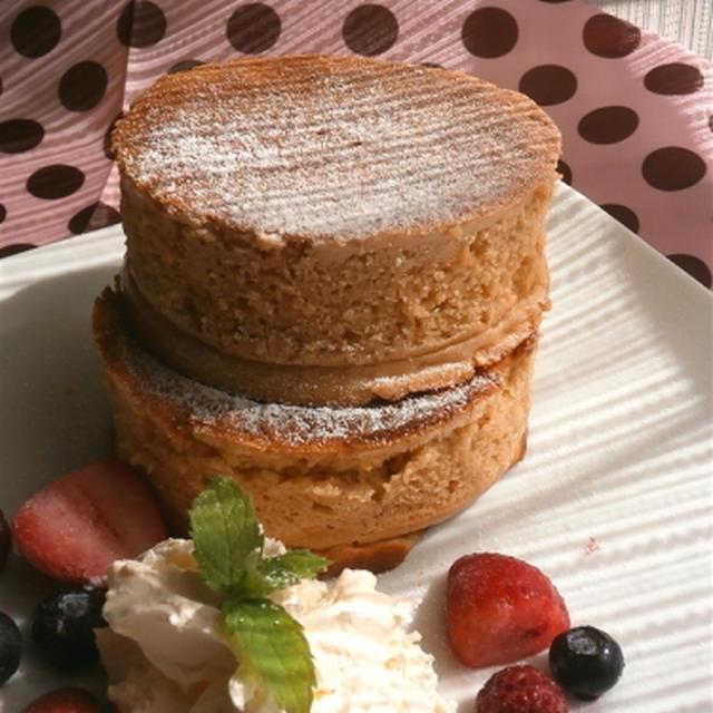 自家製酵母deバターミルクパンケーキ