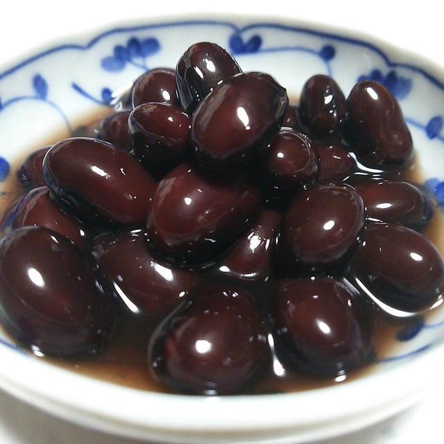 簡単☆ふっくら☆シワにならない黒豆