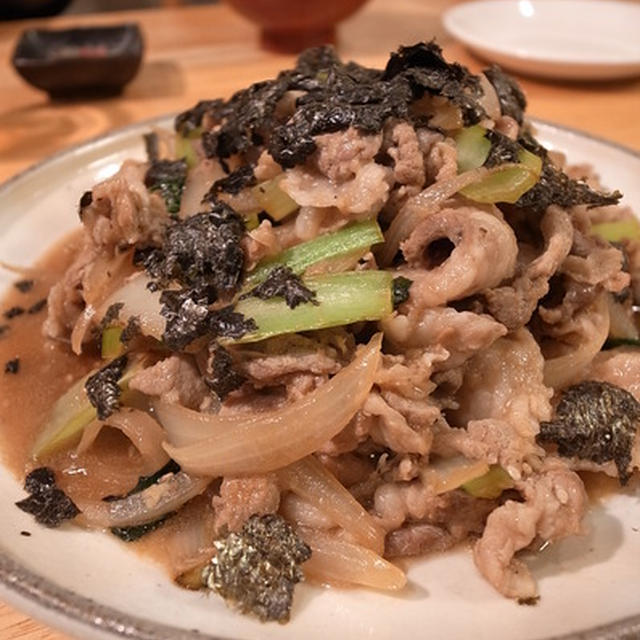 生姜焼きというより、炒め。豚と玉ねぎと小松菜の生姜炒め|2010年から続く、さいたまパパスクールで6期生むけパパ料理講座終了