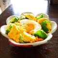 鶏と卵とピーマンさんの包まないオムライス丼  天美卵 × 豊菜JIKAN by 青山 金魚さん