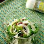 食欲そそる夏レシピ・・簡単ゴーヤとエノキのマリネと&にゃ♪