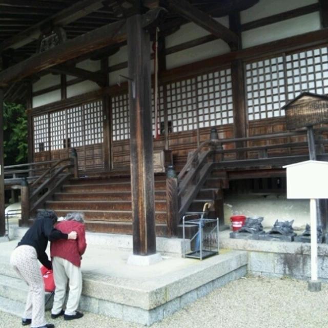 京田辺市の観音寺へ