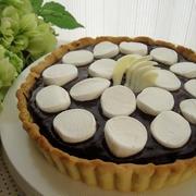 簡単★マショマロ生チョコタルト