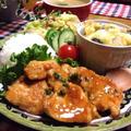 オススメ〜‼︎ご飯とまらんガリバタチキン♪…楽しみな挑戦