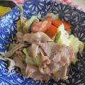 【豚肉】豚肉と野菜たっぷりさっぱり炒め
