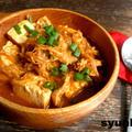 【簡単!!】豆腐と豚肉ともやしのピリ辛煮