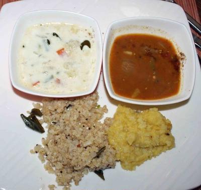 17日南インド・コーチンの朝食