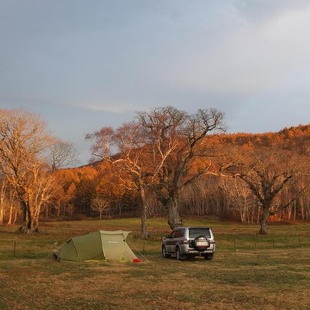 カヤノ平高原キャンプ場で今年最後のキャンプ!
