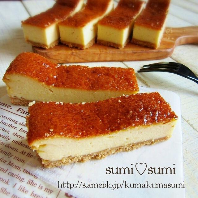 超絶簡単♥メープルシナモンチーズケーキ