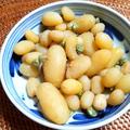 小さいジャガイモの味噌煮