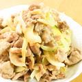 豚肉と玉ねぎの照りマヨ炒め♪お弁当にも◎