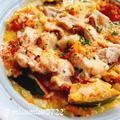 【無水シチュー】鶏もも肉の南瓜シチュー(動画レシピ)/Pumpkin stew with chicken. by みすずさん