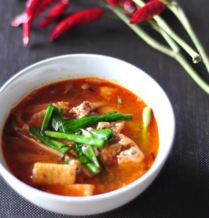 【授かるベーシックレシピ】さば缶でキムチチゲスープ