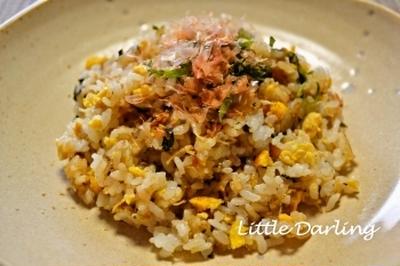【じゃこ梅おかか紫蘇キムチ チャーハン】おいしさてんこ盛りな焼き飯