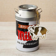 「チロルチョコ〈ミルク〉」発売30周年記念 季節限定「ミルク缶」
