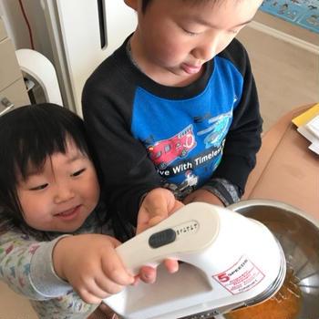 楽しい思い出。。子供達とクリスマスケーキ作り^_^