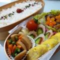 5月11日 椎茸の肉詰め弁当 by カオリさん