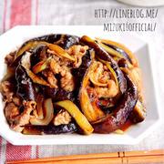 ♡ごはんがすすむ♡豚肉と茄子の生姜焼き♡【#時短#節約#フライパン】
