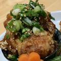 【レシピ】冷めても美味しい鶏のごま葱ポン酢唐揚げ!