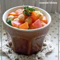 ひよこ豆と彩り野菜のマスタードサラダ