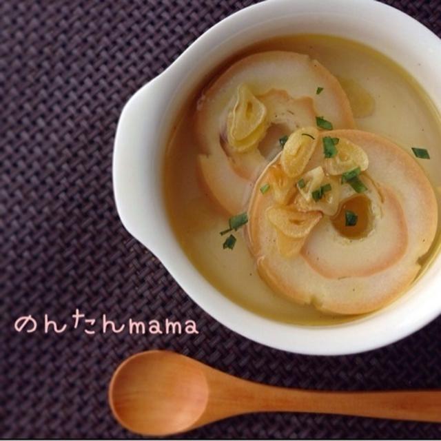 簡単!食べてキレイになるスープ   〜Fucotta〜(お麩とガーリックのスープ)