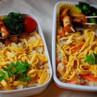 春爛漫♪タケノコのちらし寿司弁当