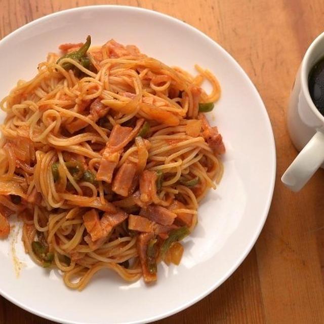 スパゲティ2つ。
