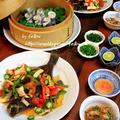 ◆太刀魚の蒸篭蒸しとカレイの姿揚げ♪~〆の松茸リゾットで旬を味わう♪