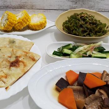 野菜を多く摂ると、心も体も喜んでいるような