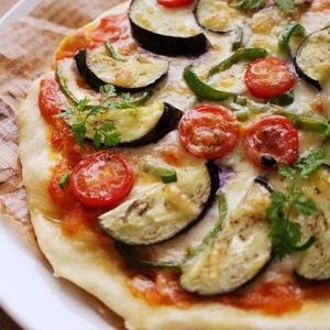 春のランチに♪発酵なしの時短ピザレシピ