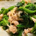 *【recipe】ほうれん草と豚しゃぶのナムル* by りょうりょさん