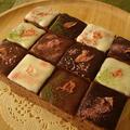 チョコレートの石畳カトルカール ~ 桜の花びら ~