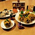 ハロウィン☆カボチャ寿司とオバケ?寿司