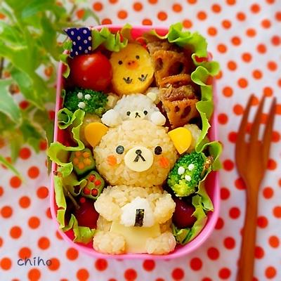 picnicリラックマ弁当♡