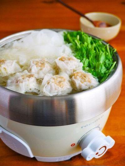 もち豚焼売と大根のリボン鍋♪簡単お鍋レシピ