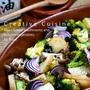 オーブンで焼くだけ♪キノコと秋野菜の米油ハーブ焼き