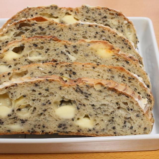 レシピ付き 豆腐のゴマチーズカンパ With recipe pain de campagne