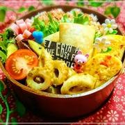 春巻食べちゃお*香ばしく海老*11/17のお弁当♪