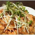 鶏胸肉のピカタ・オーロラソース