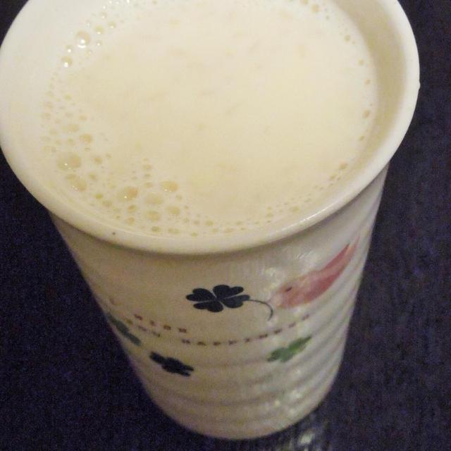 ◇米こうじ100%の豆乳甘酒、と楽しく土遊び♪