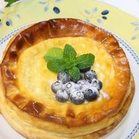◆パイナップルクリームチーズでチーズケーキ~ゆるやか糖質制限中♪