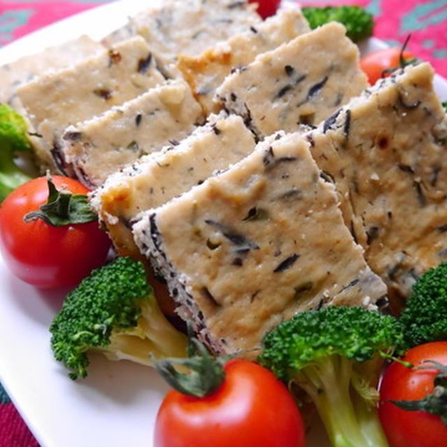 手軽におもてなし♪~豆腐&鶏ひき肉のオーブン焼き